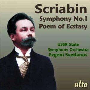 Scriabin: Symphony No.1 - Evgeni Svetlanov