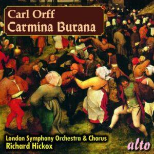 Carl Orff : Carmina Burana. Hickox.