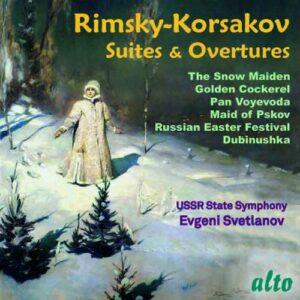 Rimsky-Korsakov: Suites & Ouvertures - Evgeni Svetlanov