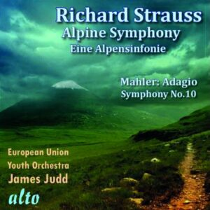 Strauss : Une symphonie alpestre. Mahler : Adagio de la Symphonie n° 10. Judd.