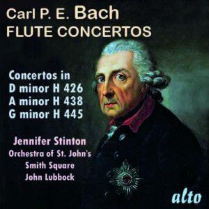 CPE Bach: Flute Concertos H426 / H438 / H445 - Jennifer Stinton