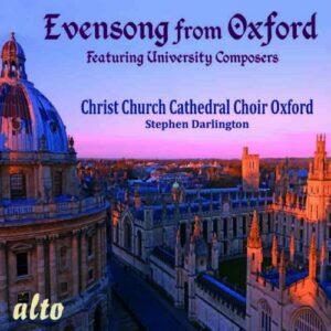 Evensong : Musique chorale à la Cathédrale d'Oxford. Darlington.