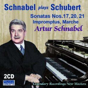 Schubert: Sonatas Nos 17, 20, 21; Impromptus - Artur Schnabel