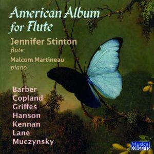 Barber, Kennan, Hanson,  Muczynski: American Album For Flute - Jennifer Stinton