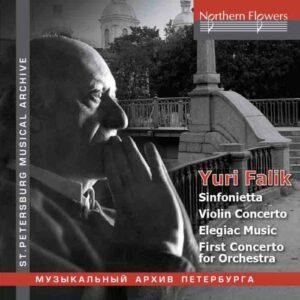 Yuri Falik : Œuvres pour violon et orchestre. Lieberman, Rozhdestvensky, Serov.