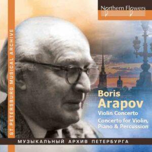 Boris Arapov : Concerto pour violon - Concerto pour violon, piano et percussion. Waiman, Sokolov, Jansons.