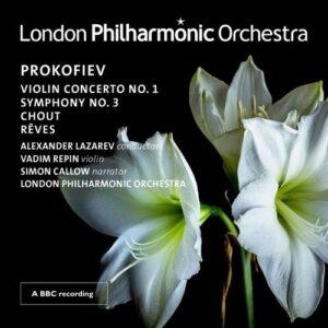 Prokofiev: Violin Concerto, Symphony No.3 - Vadim Repin