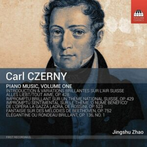 Carl Czerny: Piano Music Vol.1 - Jingshu Zhao