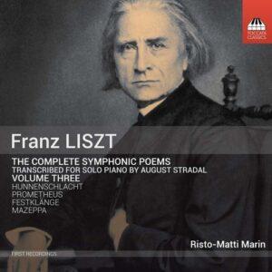 Liszt: Symphonic Poems (arr.piano) Vol. 3 - Risto-Matti Marin