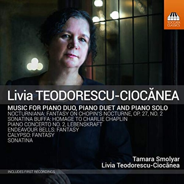 Teodorescu-Ciocanea: Piano Music - Tamara Smolyar