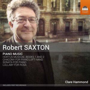 Saxton: Piano Music - Clare Hammond