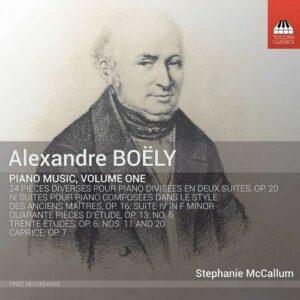 Alexandre Boely: Piano Music, Vol.1 - Stephanie McCallum