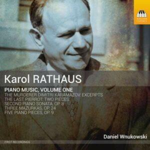 Karol Rathaus: Piano Music Vol.1 - Daniel Wnukowski