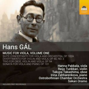 Hans Gal: Music For Viola, Vol.1 - Sakari Oramo