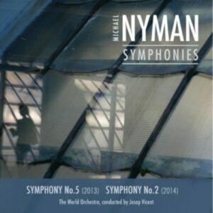 Michael Nyman: Complete Symphonies Vol. I - Josep Vicent