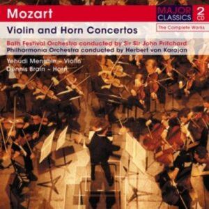 Violin And Horn Concertos - Mozart
