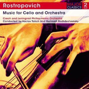 Music für Cello & Orchestra - Rostropovich