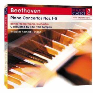 Piano Concertos Nos. 1-5 - Beethoven / Kempen