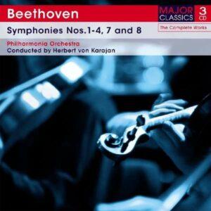 Symphonies Nos.1-4, 7 & 8 - Beethoven / Karajan