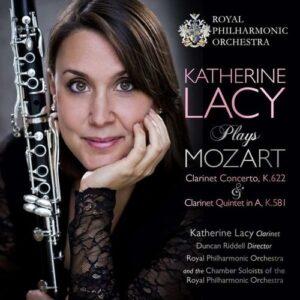 Mozart: Clarinet Concerto, Clarinet Quintet - Katherine Lacy