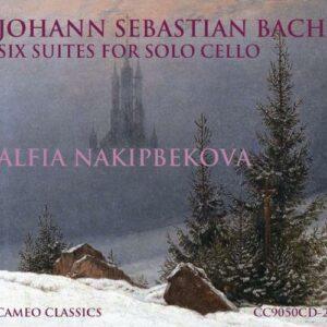 Johann Sebastian Bach: Six Suites For Solo Cello - Nakipbekova, Alfia