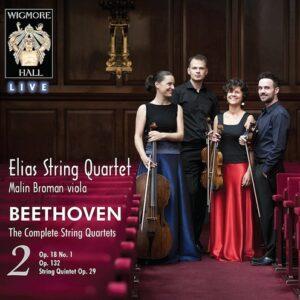 Ludwig Van Beethoven: The Complete String Quartets Volume 2 - Elias String Quartet