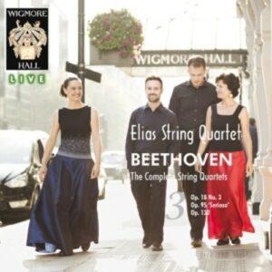 Beethoven: The Complete String Quartets Vol.3 - Elias String Quartet