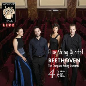 Beethoven: Quartets Vol. 4 - Elias Quartet