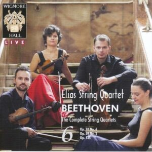 Beethoven: String Quartets Vol.6 - Elias String Quartet