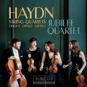 Joseph Haydn: String Quartets Nos.32 ,58, 66 - Jubilee Quartet