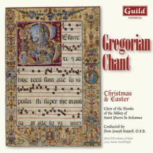 Gregorian Chant: Christmas & East - Choir of the Monks of the Abbey of Saint Pierre de Solesmes