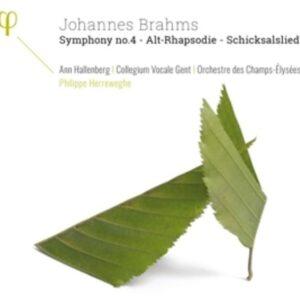 Brahms: Symphony No.4, Alt-Rhapsodie, Schicksalslied - Philippe Herreweghe