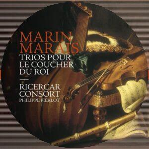 Marin Marais: Trios Pour Le Coucher Du Roi - Philippe Pierlot