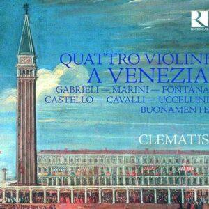 Quattro Violoni A Venezia - Clematis