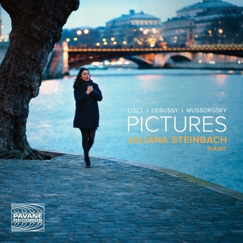 Liszt, Debussy, Moussorgski : Pictures, œuvres pour piano. Steinbach.