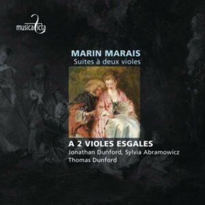 Marais, M.: A 2 Violes Esgales