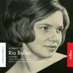 In Flanders' Fields Vol. 91 - Hommage To Ria Bollen
