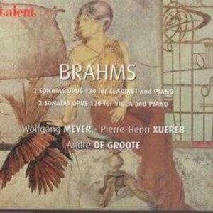 Johannes Brahms: Sonaten für Klarinette & Klavier op.120 Nr.1 & 2 - Wolfgang Meyer