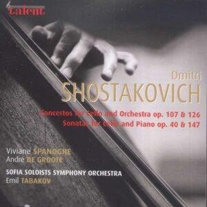 Shostakovich Cello Concertos -  Viviane Spanoghe