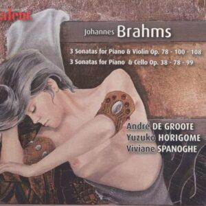 Brahms: Violin Sonatas -  Yuzuko Horigome