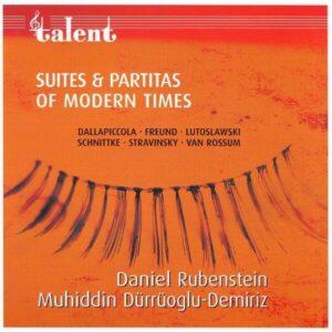 Suites & Partitas of Modern Times - Muhiddin Dürrüoglu-Demiriz