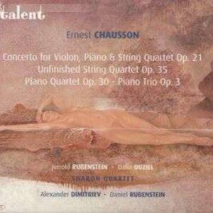 Chausson: Chamber Music - Dalia Ouziel