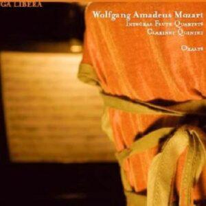 Mozart: Flute Quartets & Clarinet Quintet - Oxalys