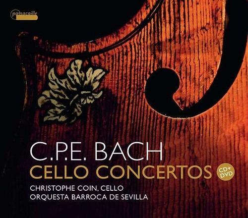 CPE Bach: Cello Concertos - Christophe Coin