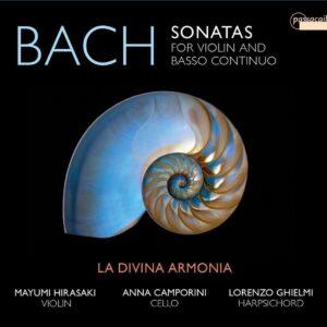 Johann Sebastian Bach: Sonatas For Violin And Basso Continuo - La Divina Armonia