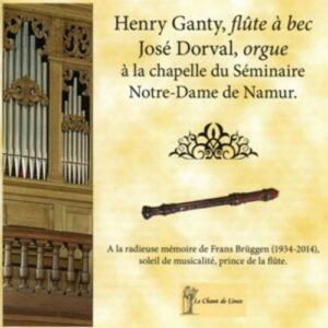 Loeillet-Demoivre-Veracini-Walther: Musique Pour Flute A Bec Et Orgue - Henry Ganty, Jose Dorval