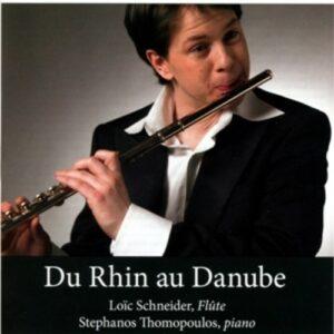 Schubert - Reinecke - Karg Elert-Hinde: Du Rhin Au Danube
