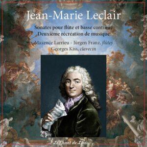 Jean-Marie Leclair: Sonates Pour Flutes Et Basse Continuo