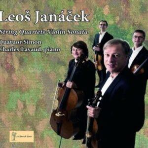 Leos Janacek: String Uartets / Violin Sonata - Quatuor Simon