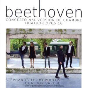 Beethoven: Piano Concerto No.4 (arr. For Piano Quintet), Piano Quartet Op.16 - Stephanos Thomopoulos